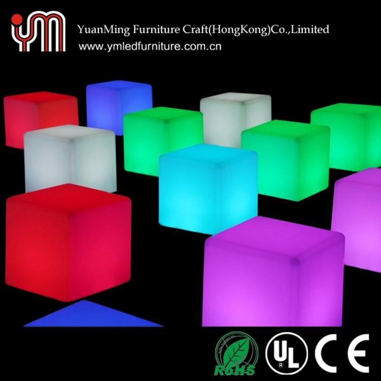 Customized Led Outdoor Lighting Cube