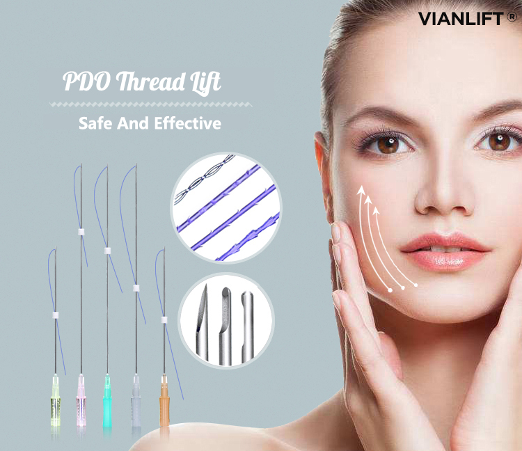 facial lifting V Line Medical Screw Korea PDO/PCL Face Thread Lift with High Quality