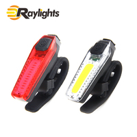 USB charging bicycle outdoor riding COB MTB LED warning bicycle rear light