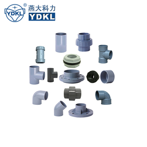 plastic PVC PP PVDF CPVC all kinds of pipe fittings and valves