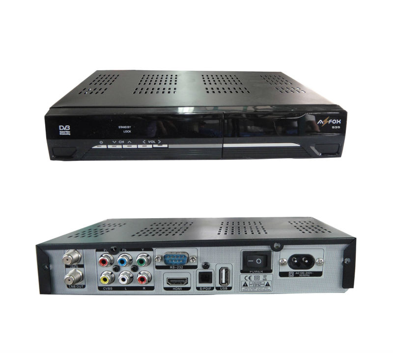 Satellite receiver receptor free internet tv modem