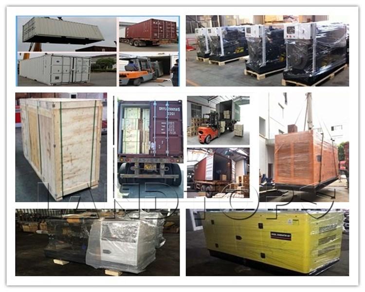 Landtop Lage Prijs Gemakkelijk Onderhoud 10kva 12kva 15kva 20kva 30kva 100kva Diesel Generator Geluiddichte Type