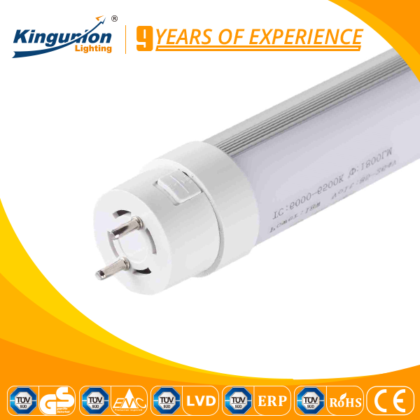 Kingunion g13 connectors t8 led tube light 100lm/w office light t8 led tube 18w