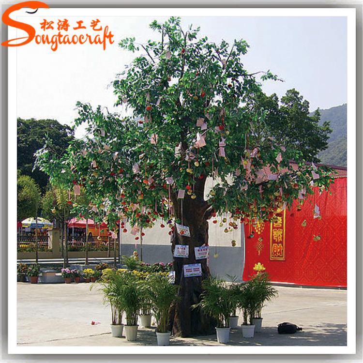 China Supplier Hot Sale Lifelike Life Size Trees Large Artificial ...