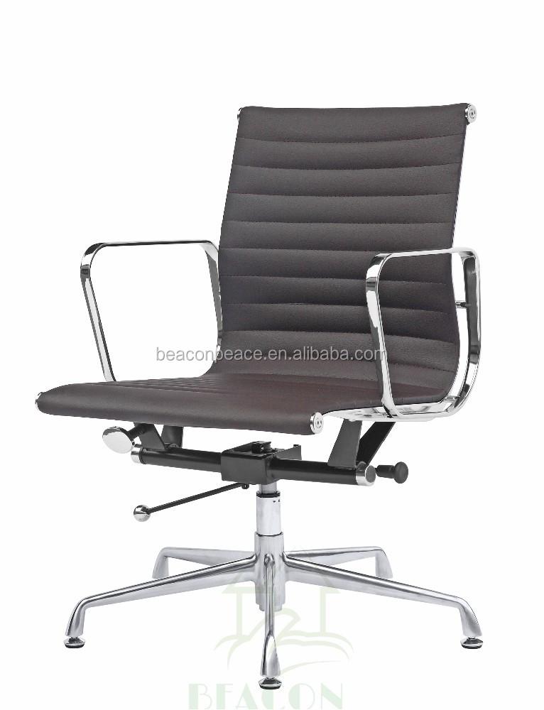 muebles de oficina silla de cuero silla de oficina sin On silla giratoria sin ruedas
