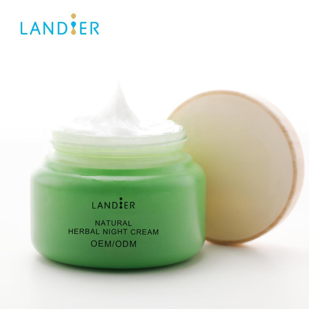 Korean Skin Care Products Natural Herbal Moisturizing Whitening Night Cream  For Sensitive Skin - Buy Face Cream For Sensitive Skin,Best Night