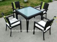 Outdoor garden table with 4 chairs