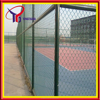 professional powder coated game fence