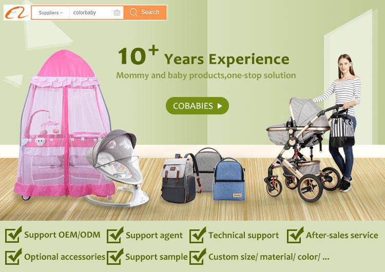 OEM ODM तह शिशु खटिया पालना, बच्चे फर्नीचर यात्रा पोर्टेबल बच्चे बिस्तर/