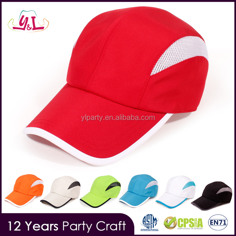 Agenda 2016 Red White Polyester Cotton Fabric Baseball Cap Summer Hat Softtextile Curve Brim Snapback Cap And Hat