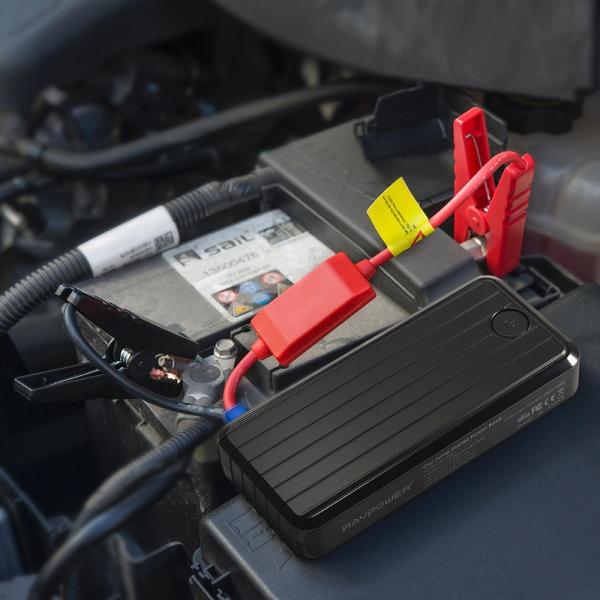car battery jump starter ravpower rp pb27 portable car. Black Bedroom Furniture Sets. Home Design Ideas
