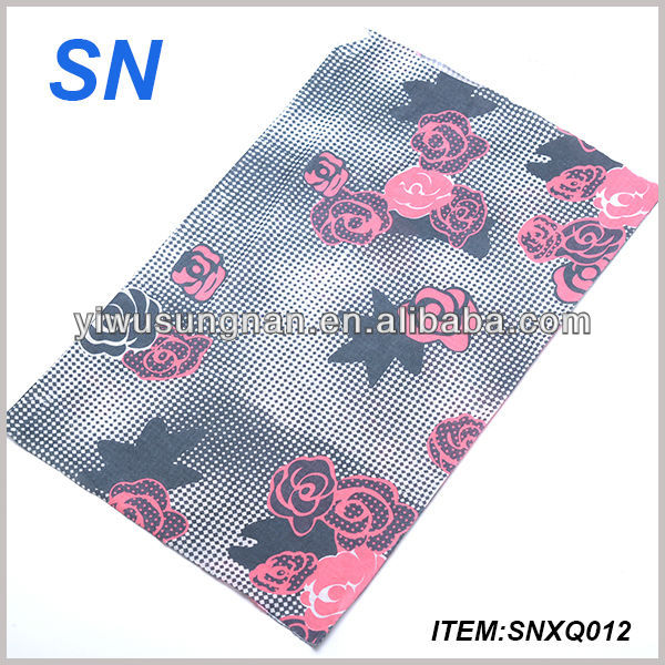 multifunctional magic fashion custom sport lady headscarf
