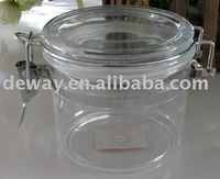 Clear Canister Plastic Canister Plastic Jar Clear Jar Transparent ...