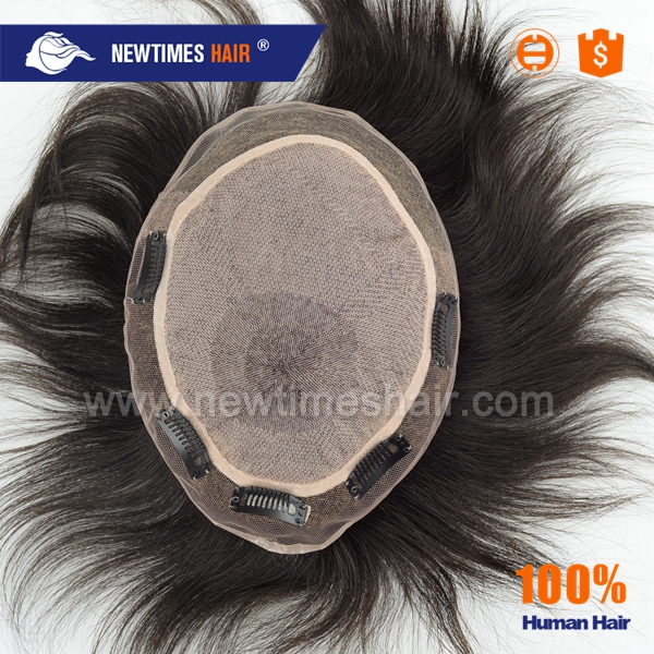 SILK TOP base hair system wholesale for men