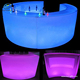 RGB Led Party Furniture Waterproof Glowing Bar Furniture led Bar counter