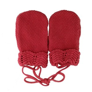 Wholesale cheap red baby gloves mittens with fast delivery