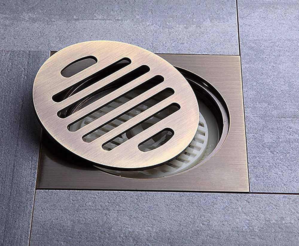 BBSLT-Stylish antique bathroom floor drains, copper and odor-resistant floor drains, kitchen pest and odor-resistant floor drain