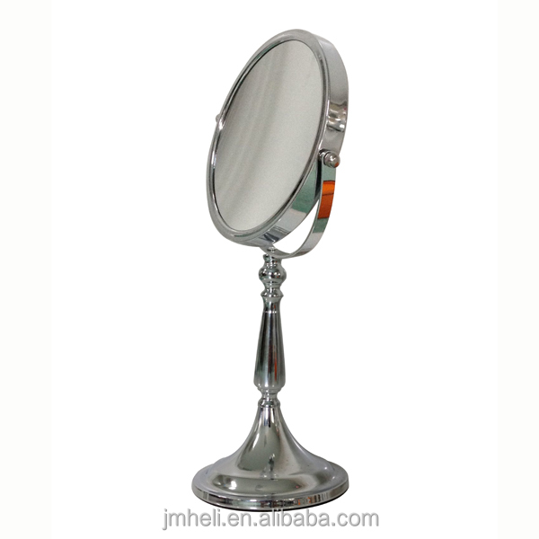 Double sided two ways makeup mirror