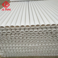 4m 6m length PVC pipe 90mm uPVC water tube drainage pipe duct pipe