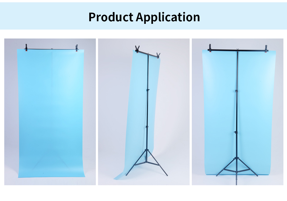 JINBEI 90x200cm Photographic Background Stand 6.56ft / 200cm Strobe Flash Light Stand for Studio Portrait Photography for sale