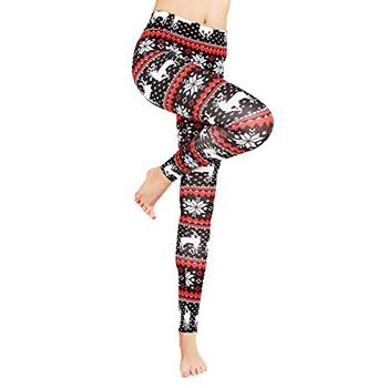 Plus Size Christmas Leggings.2018 Fashion Women Casual Christmas Wear Print Plus Size Leggings Buy Leggings For Women Printed Leggings Print Christmas Tablecloth Product On