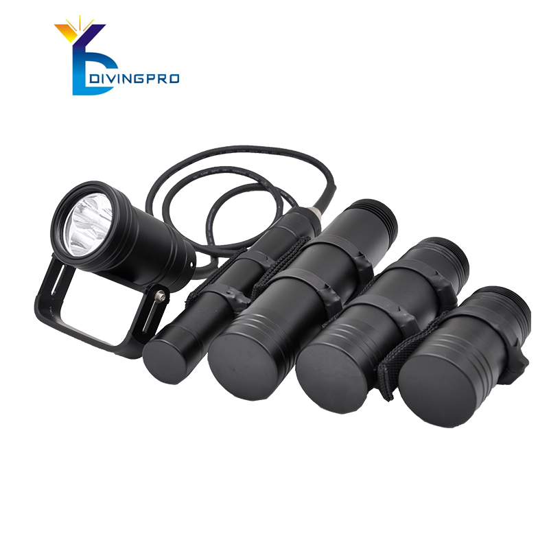 <strong>CREE</strong> XML-U2-L2 waterproof for ip68 diving torch flashlight