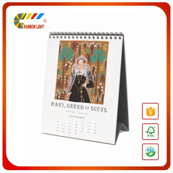 Pas cher prix foldble papier tente de bureau calendrier for Bureau kalender
