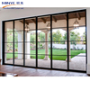 China Supplier Aluminum Sliding Door Exterior Glass Sliding Door Roller System