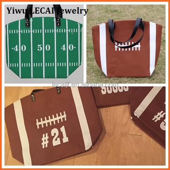 702dfa7b3ba Personalized Large Brown Canvas Sports Canvas Football Tote Bags Wholesale  - Buy Personalized Large Brown Canvas Sports Canvas Football Bags,Football  ...