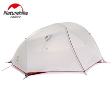 Naturehike Nature Hike Updated Star-river 20D Nylon Ultralight Camping 2 Men Tents