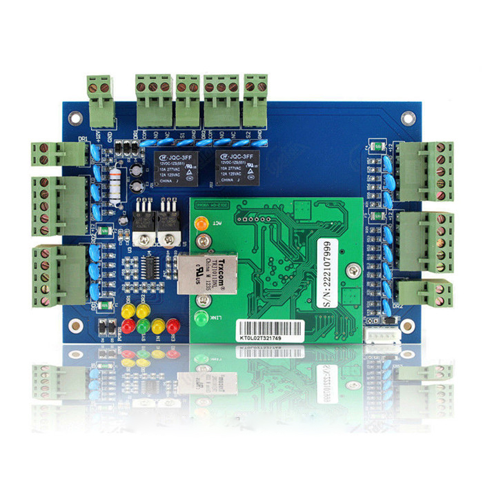 Access Control Cheap Price Tcp/ip Network Access Control Board Panel Controller For Wiegand 1 Door Support Remote Unlocking Products Hot Sale
