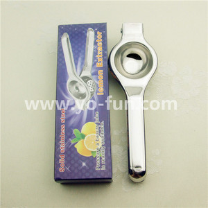 JJJ105 promotion cheap stainless steel lemon squeezer
