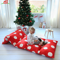 Hot sell Kid's Floor Pillow Bed Cover Portable Toddler Bed for Reading Playing
