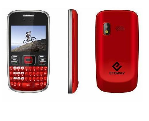 original 2.2 inch dual sim quad band china qwerty keyboard mobile phone