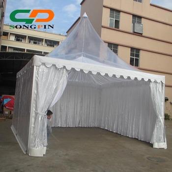 4x4m aluminum frame waterproof fabric clear plastic party tent for sale & 4x4m aluminum frame waterproof fabric clear plastic party tent for ...