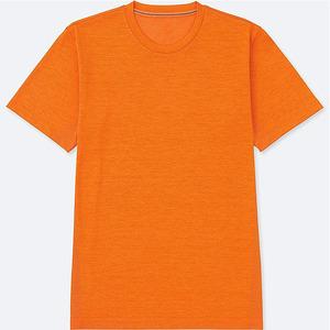Cheap promotional fashion bangladesh clothing custom blank plain orange t shirt