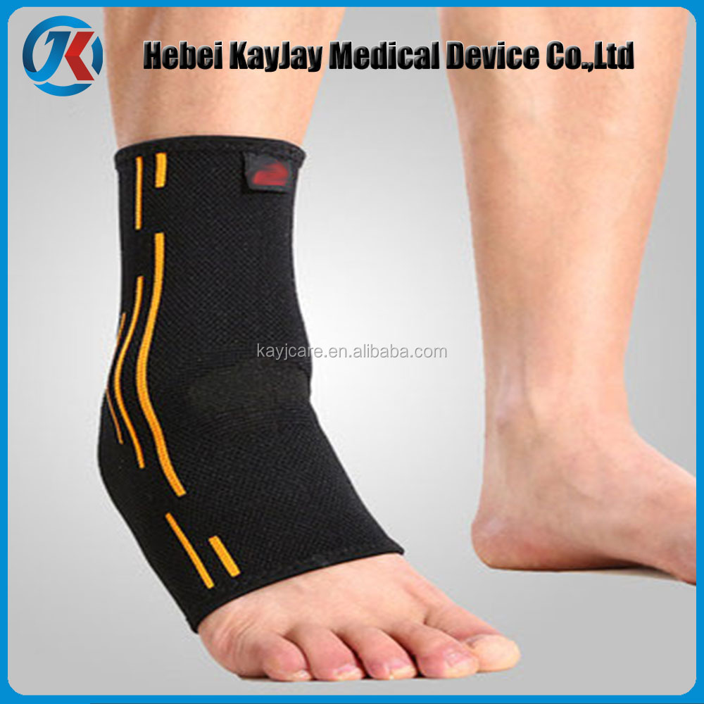 circular Knitting ankle brace support, sport ankle brace,medical ankle brace
