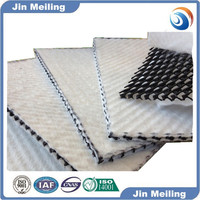 geo-mat compound with geotextile geocomposite drain