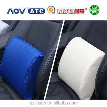 2017 Neck And Back Car Massage Wedge Memory Foam Padded Seat Cushions