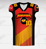 2019 New design Custom Made American football Jersey Clothing wholesale 100%Polyester Sublimation Football Jersey
