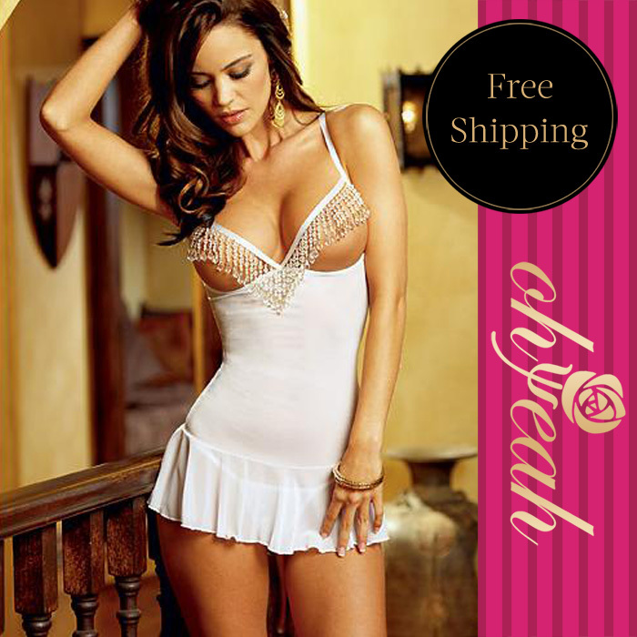 ec2ae91a0b Fashion Plus Size Lingerie Sexy Babydoll Lingerie With Ohyeah Brand Hot  White Lingerie
