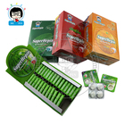 Crisp Chewing Gum Watermelon Strawberry Minty Orange 4 PCS Fruit Jam Gum Center Filled Chewing Gum
