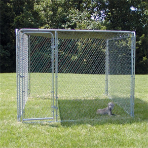 large outdoor chain link dog kennel/dog fence for sale