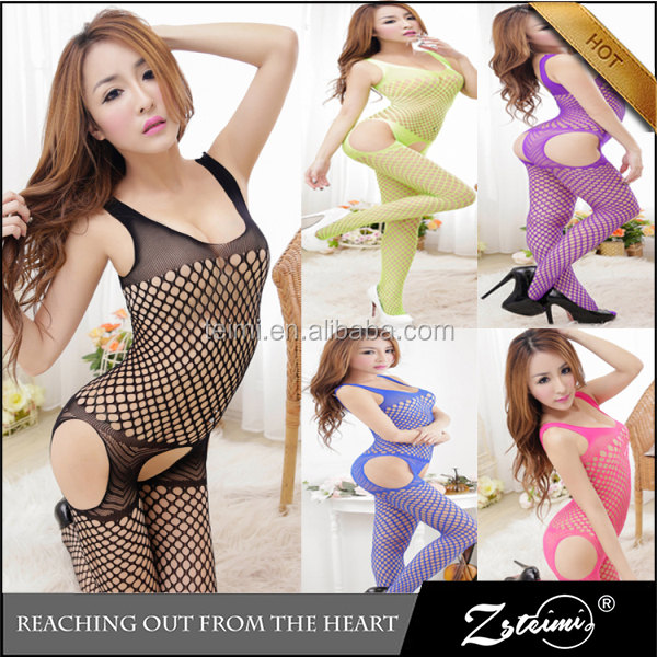 China Lingerie Manufacturers Transparent Bodystocking Newest Fashion Sexy Hot Japanese Cute Girl Lingerie