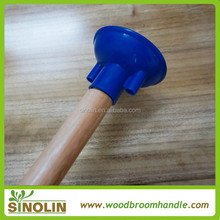 varnish painted wood mop handle , wood poles, wooden mop stick