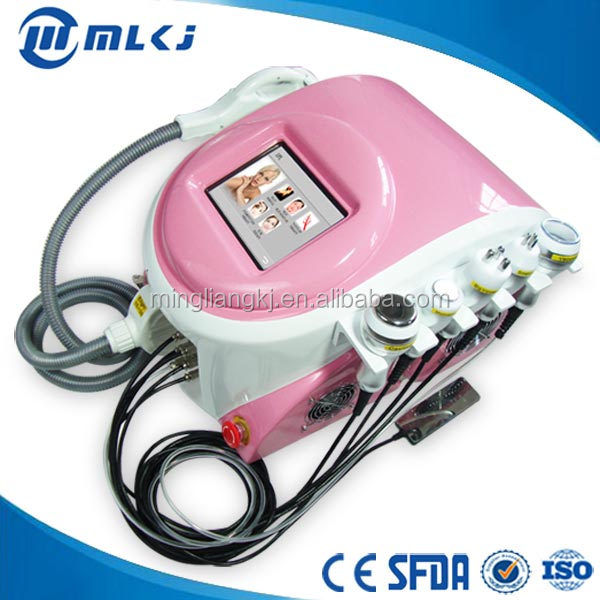 6 in 1 Elight+Cavitation+Vacuum+RF high quality new types salon equipment for men