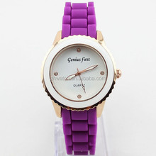 multiple colors customer silicone goods watch strap health watch