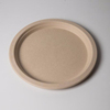 Wholesale Custom bamboo biodegradable tableware, bamboo fiber plate