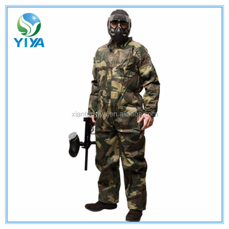 New style paintball camo coveralls,coverall camouflage,paint coverall