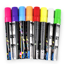 Durable elegant custom logo 6 mm liquid chalk marker bic ink pen chameleon magic marker highlighter for led writing board